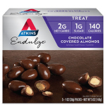 Atkins US Endulge Chocolate Covered Almonds Box of 5