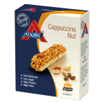 Atkins Cappuccino Nut Box of 5 30g Bars 25% off Discount shows in cart