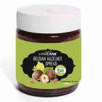 CarbZone Low Carb Belgian Choc Hazelnut Spread with Stevia 250g Jar