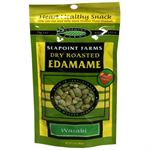 Seapoint Farms Edamame Dry Roasted - Wasabi 99g  SALE Best before 2 July 2017