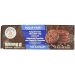 Voortman Sugar Free Fudge Brownie Chocolate Chip Cookies 227g